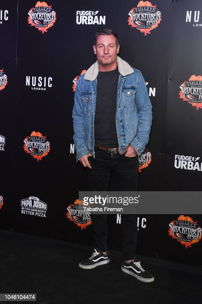 Dean Gaffney attends the press night for Shocktober Fest at Tulleys Farm on October 5 2018 in Crawley West Sussex