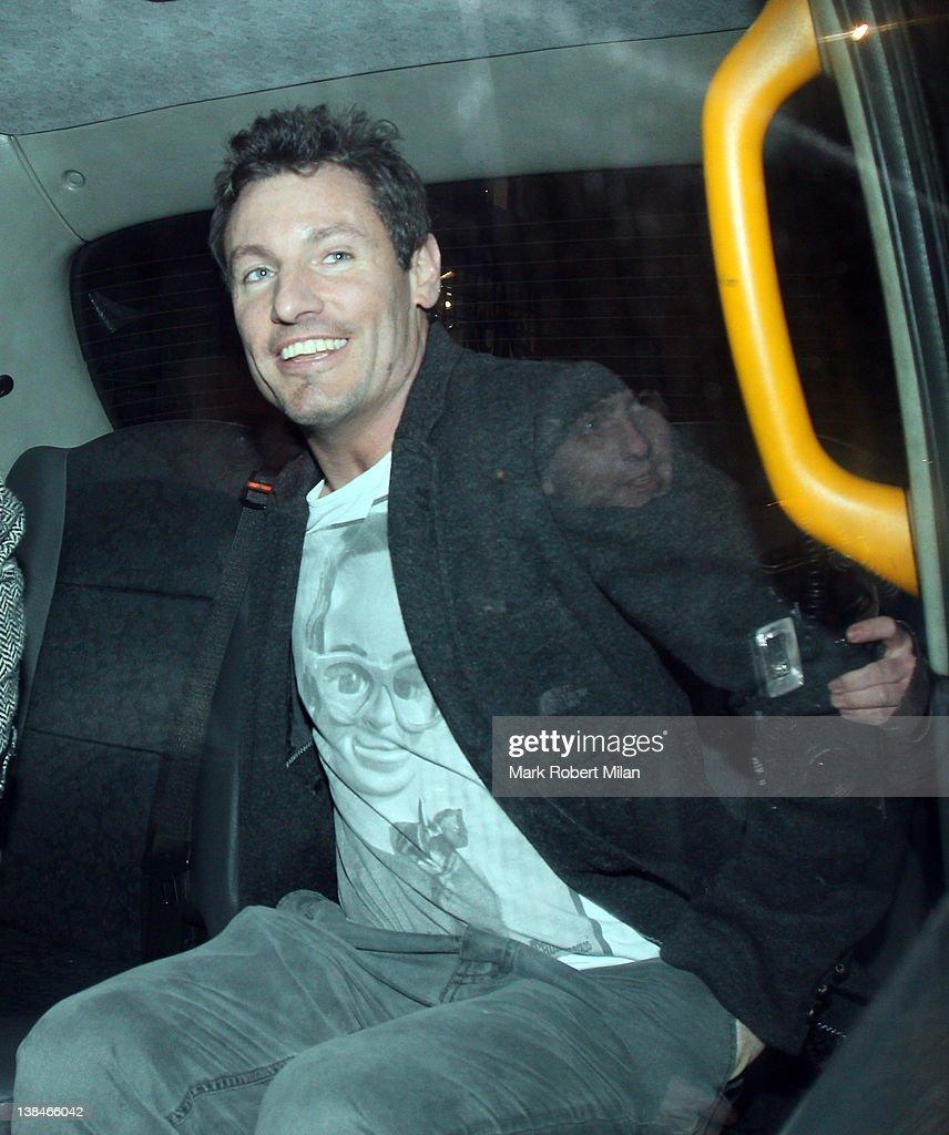 Celebrity Sightings In London - February 7, 2012 : News Photo