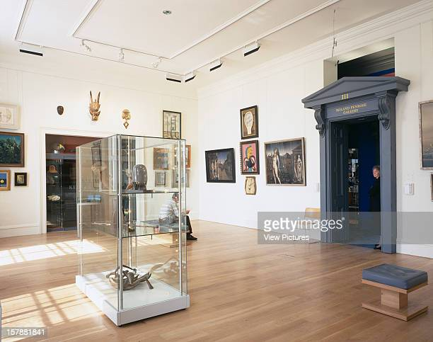 Dean Gallery, Edinburgh, United Kingdom, Architect Terry Farrell And Partners, Dean Gallery May 1999. Terry Farrell And Partners. Interior, Ground...