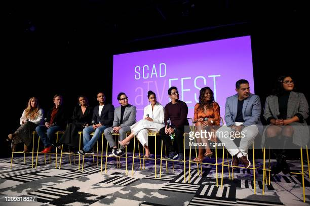 Dean Georgaris, Nathalie Kelley, Victor Rasuk, Dan Bucatinsky, Michelle Veintimilla, David Del Rio, Lisa Vidal, Carlos Gómez and Belissa Escobedo...