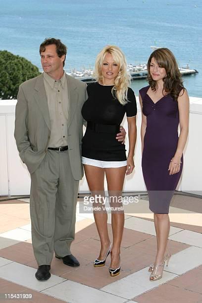 Dean Hamilton, Pamela Anderson and Emmanuelle Vaugier