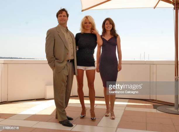 Dean Hamilton Pamela Anderson and Emmanuelle Vaugier