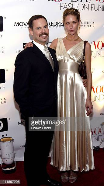 Dean Harris and Erin Wasson during CFDA Vogue Fashion Fund Dinner at Skylight in New York City New York United States