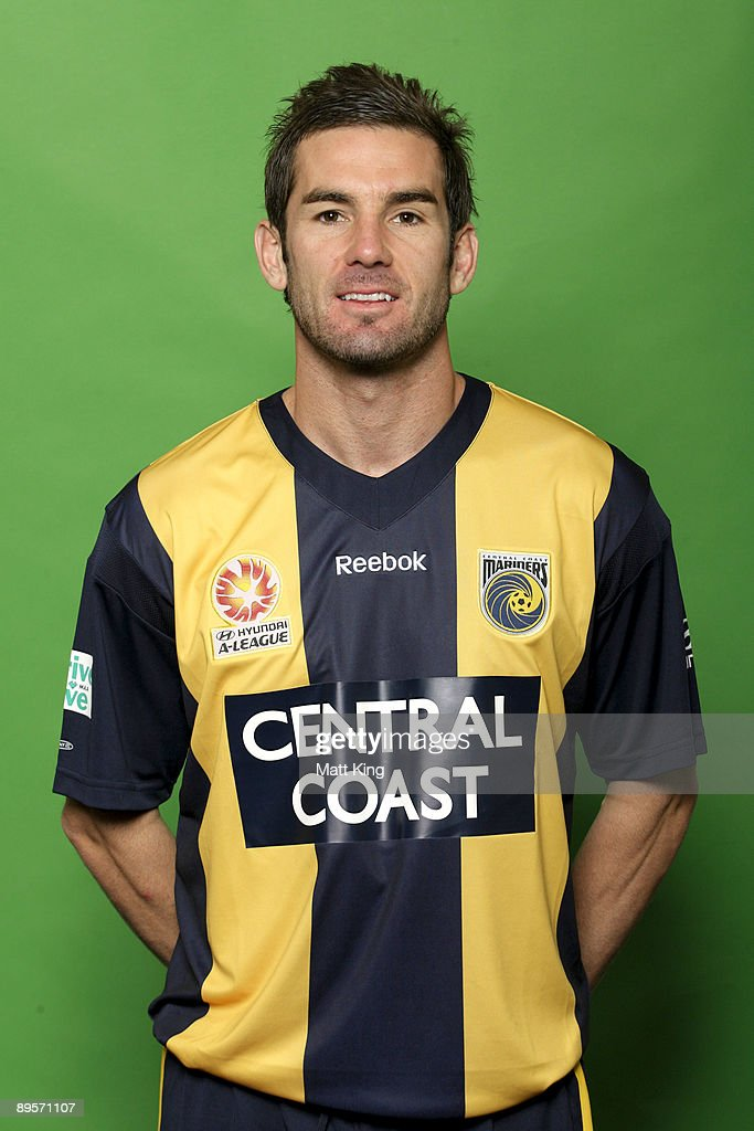 Dean Heffernan poses during the official Central Coast Mariners 2009/10 Hyundai A-League headshots session at Bluetongue Stadium on July 7, 2009 in Gosford, Australia.