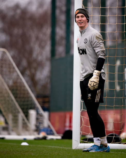 GBR: Manchester United Training