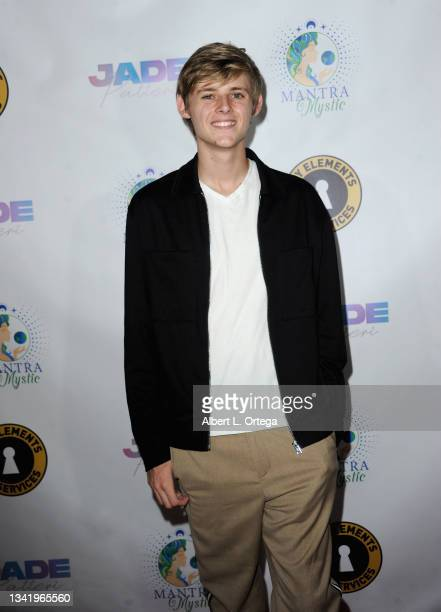 Dean Hermansen attends the EP Release Party for Jade Patteri held at The Federal NoHo on September 21, 2021 in North Hollywood, California.