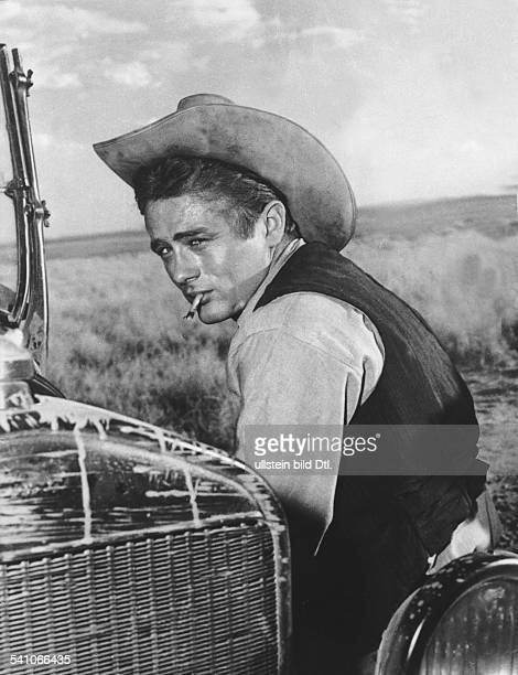 Dean James Actor USA * Scene from the movie 'Giant'' Directed by George Stevens USA 1956 Produced by Giant Productions Vintage property of ullstein...