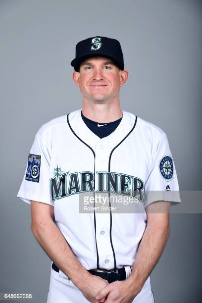 Dean Kiekhefer of the Seattle Mariners poses during Photo Day on Monday February 20 2017 at Peoria Sports Complex in Peoria Arizona
