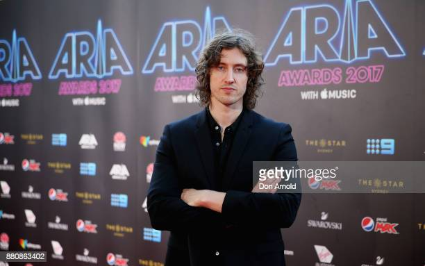 Dean Lewis arrives for the 31st Annual ARIA Awards 2017 at The Star on November 28 2017 in Sydney Australia