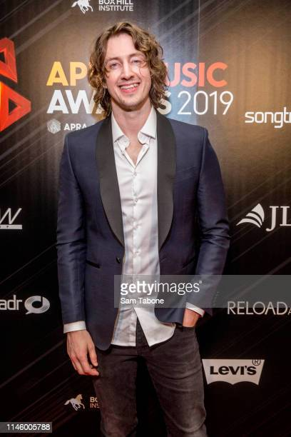 Dean Lewis attends the 2019 APRA Music Awards at Melbourne Town Hall on April 30 2019 in Melbourne Australia