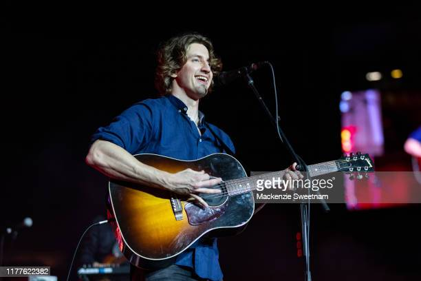 Dean Lewis performs at the 2019 AFL Grand Final on September 28 2019 in Melbourne Australia