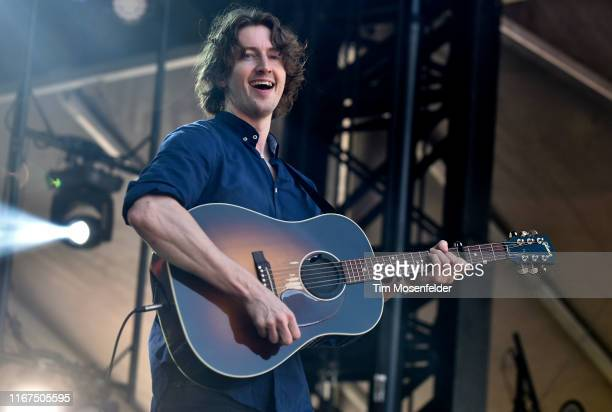Dean Lewis performs during the 2019 Outside Lands music festival at Golden Gate Park on August 11 2019 in San Francisco California