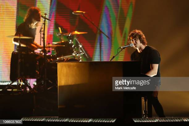 Dean Lewis performs during the 32nd Annual ARIA Awards 2018 at The Star on November 28 2018 in Sydney Australia
