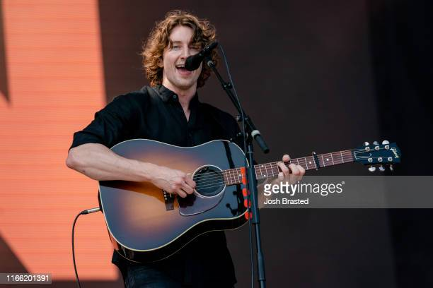 Dean Lewis performs during the Lollapalooza Music Festival at Grant Park on August 04 2019 in Chicago Illinois