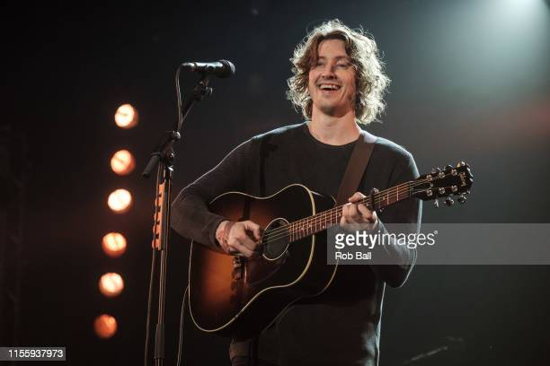 Dean Lewis performs on stage during Isle of Wight Festival 2019 at Seaclose Park on June 14 2019 in Newport Isle of Wight