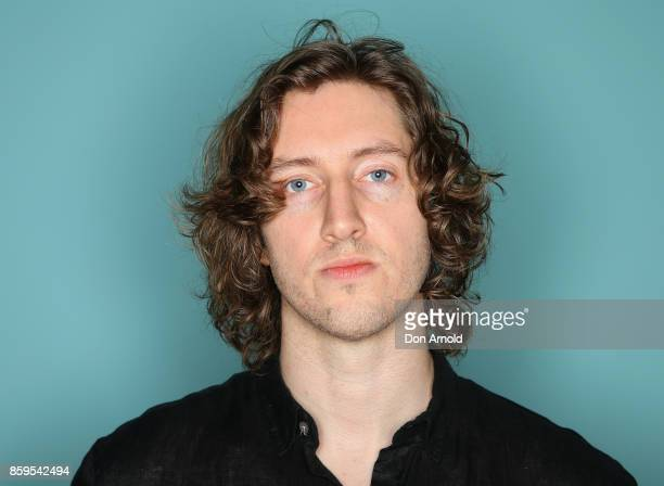 Dean Lewis poses at the 31st Annual ARIA Nominations Event at Art Gallery Of NSW on October 10 2017 in Sydney Australia