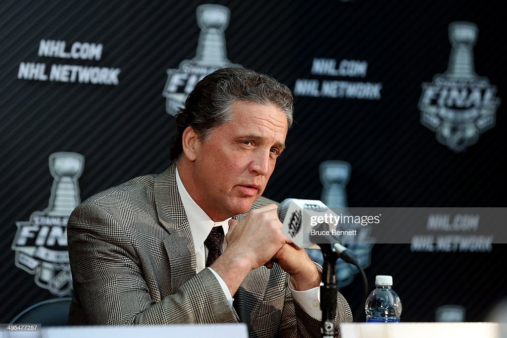 2014 NHL Stanley Cup Final - Media Day : News Photo