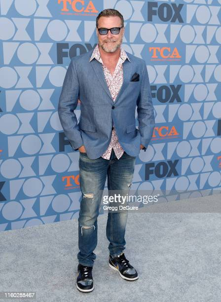 Dean McDermott arrives at the FOX Summer TCA 2019 All-Star Party at Fox Studios on August 7, 2019 in Los Angeles, California.