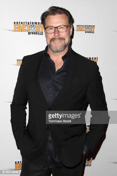 "Dean McDermott attends the Screening Of Entertainment Factory's ""Garlic And Gunpowder"" at TCL Chinese 6 Theatres on July 6, 2017 in Hollywood,..."