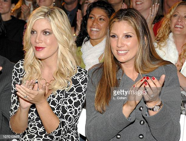 Dean McDermott, Tori Spelling and Daisy Fuentes during Kohl's and Conde Nast Host Kohl's Transformation Nation Fall Fashion Show - Inside and Show at...