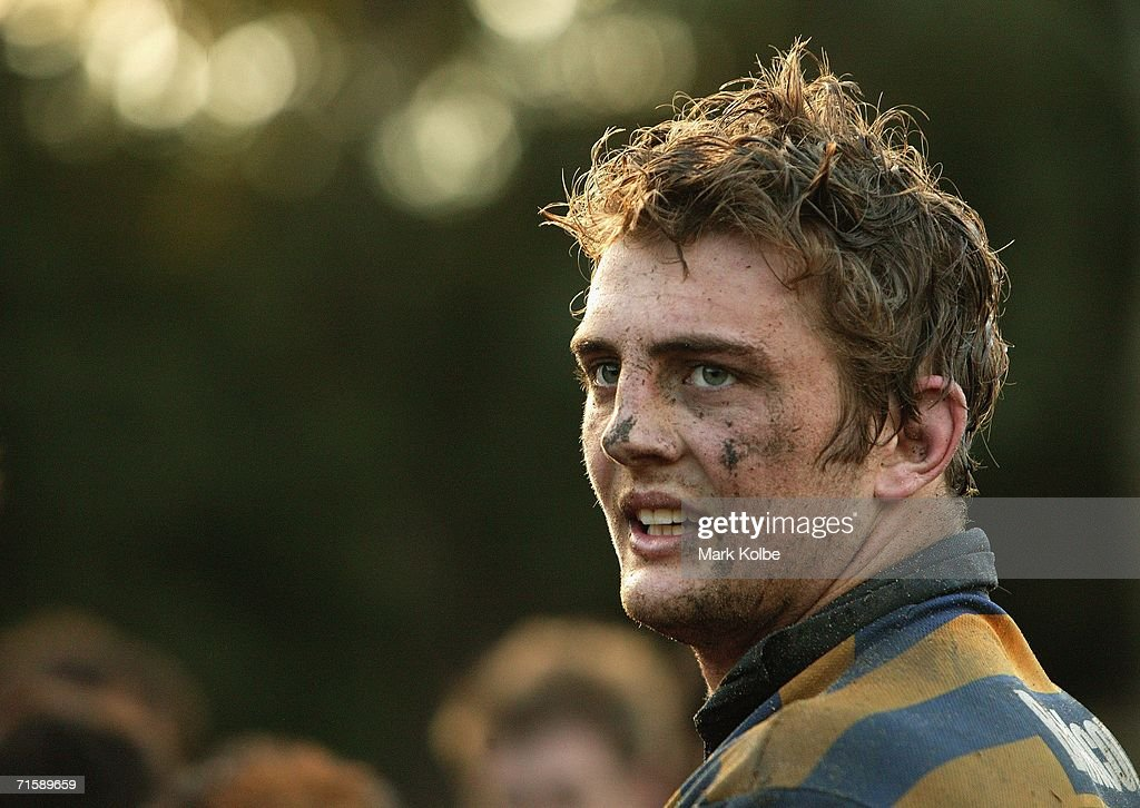 Dean Mumm of Sydney University takes a break during the Tooheys New Cup Rd 10 match between Sydney University and Penrith at Sydney University Oval, August 5, 2006 in Sydney, Australia.