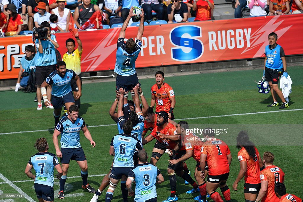 Super Rugby Rd 15 - Sunwolves v Waratahs : News Photo