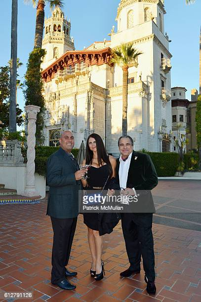 Dean Najdawi Xiandra Najdawi and Cary Collins attend Hearst Castle Preservation Foundation Annual Benefit Weekend Legends of the Silver Screen...
