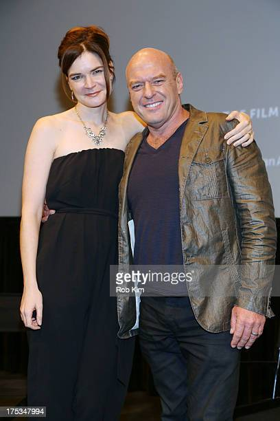 """Dean Norris and Betsy Brandt attend """"The Perfect Batch: Breaking Bad Cast Favorites"""" - Panel Discussion And Q & A at The Film Society of Lincoln..."""