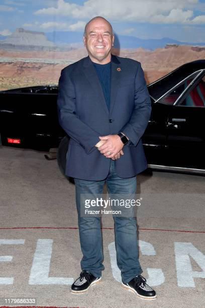 Dean Norris attends the Premiere of Netflix's 'El Camino: A Breaking Bad Movie' at Regency Village Theatre on October 07, 2019 in Westwood,...