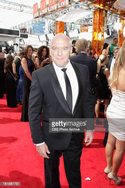 Dean Norris from Under the Dome on the red carpet for the 65th Primetime Emmy Awards which will be broadcast live across the country 8:00-11:00 PM...