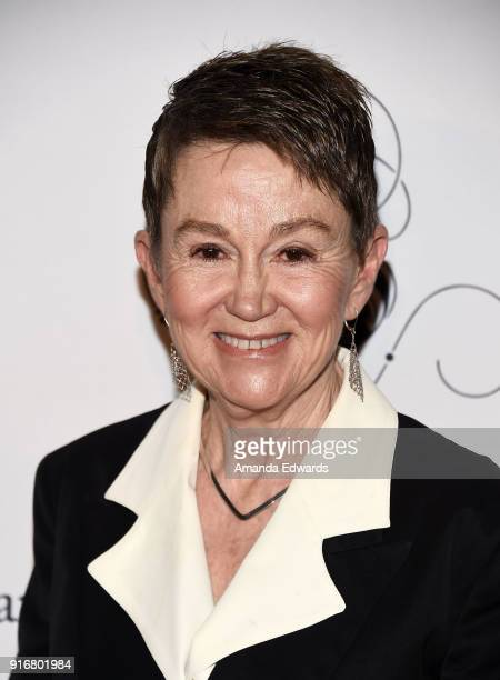 Dean of USC School of Cinematic Arts Elizabeth M Daly arrives at the USC Libraries 30th Annual Scripter Awards at the Edward L Doheny Jr Memorial...