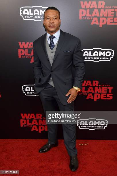 Dean Redman attends the War For The Planet Of The Apes New York Premiere at SVA Theater on July 10 2017 in New York City