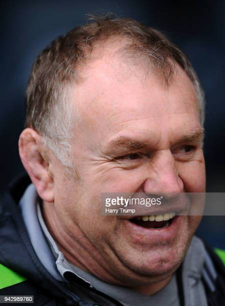 Dean Richards Director of Rugby of Newcastle Falcons during the Aviva Premiership match between Worcester Warriors and Newcastle Falcons at Sixways...