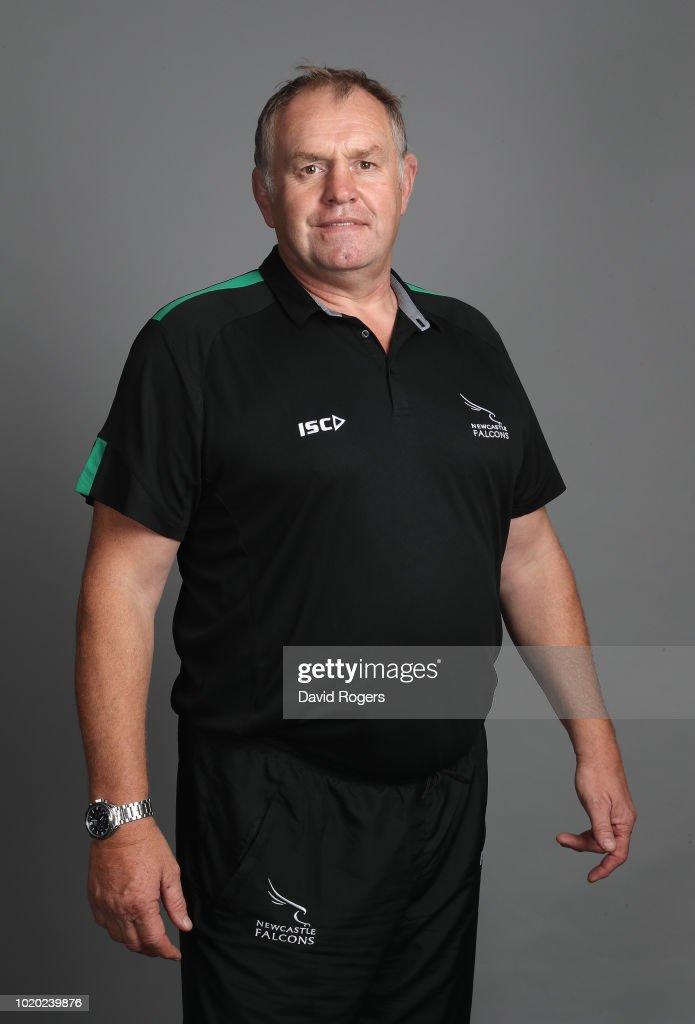 Newcastle Falcons Squad Photo Call