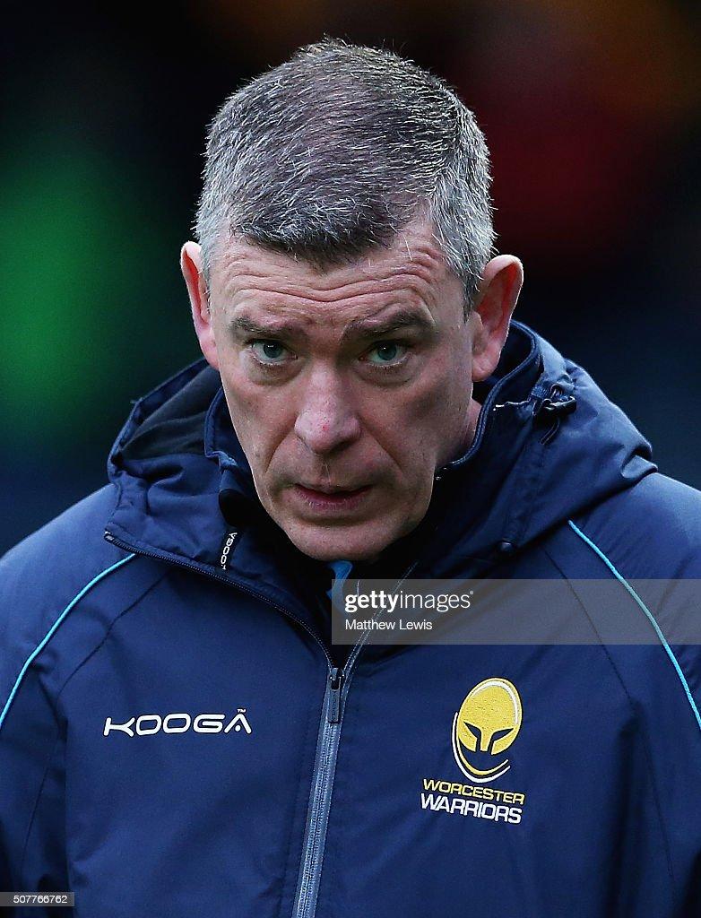 Worcester Warriors v Exeter Chiefs - Aviva Premiership