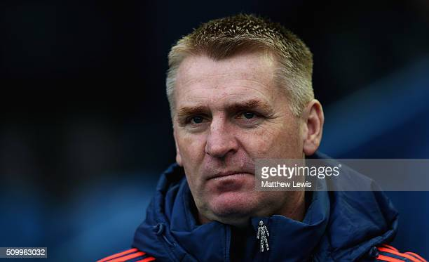 Dean Smith manager of Brentford looks on during the Sky Bet Championship match between Sheffield Wednesday and Brentford at Hillsborough Stadium on...
