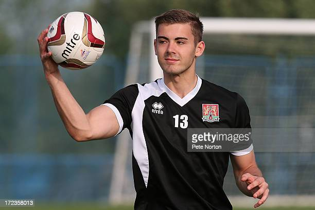 Dean Snedker of Northampton Town in action during a training session during PreSeason Training on July 2 2013 in Novigrad Croatia