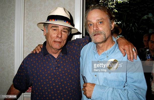 Dean Stockwell and Brad Dourif during Hollywood Collectors Celebrities Show 2004 at Beverly Garland's Holiday Inn in North Hollywood California...