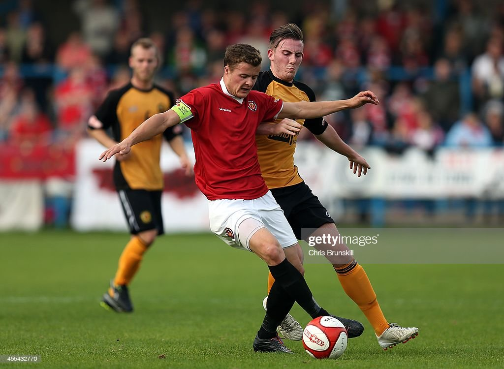 FC United Of Manchester v Prescot Cables - FA Cup Qualifying First Round : News Photo