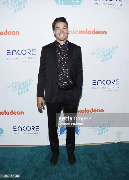 Dean Unglert arrives at the 9th Annual Thirst Gala at The Beverly Hilton Hotel on April 21 2018 in Beverly Hills California