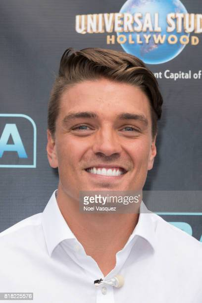 Dean Unglert visits 'Extra' at Universal Studios Hollywood on July 18 2017 in Universal City California