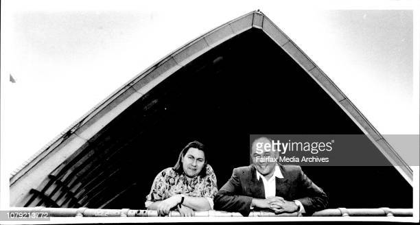 Dean Watkins and Alan John are composers of a new opera about the building of the Opera House September 24 1992