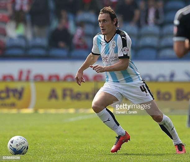 Dean Whitehead of Huddersfield Town FC during the Sky Bet Championship match between Huddersfield Town and Brentford at The John Smith's Stadium on...