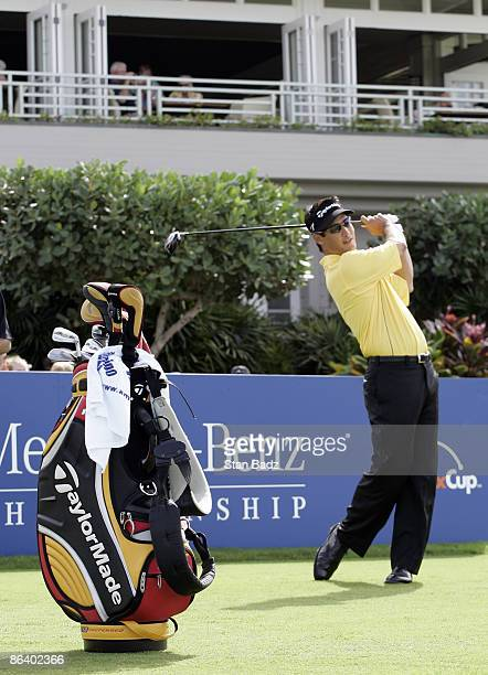 Dean Wilson during the first round of the MercedesBenz Championship held on the Plantation Course at Kapalua in Kapalua Maui Hawaii on January 4 2007