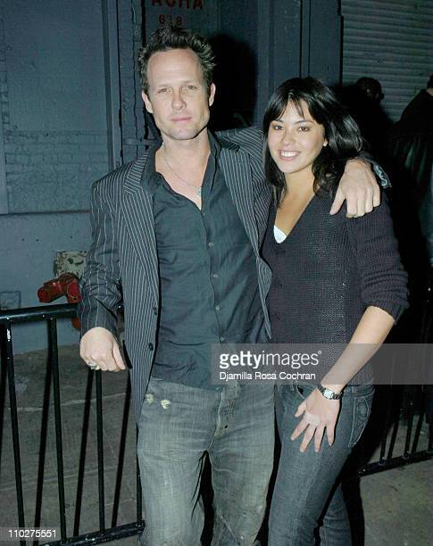Dean Winters and Kelly Hulbert during New York Premiere of Cirque Du Soleil's ''Corteo'' After Party at Pacha in New York City New York United States
