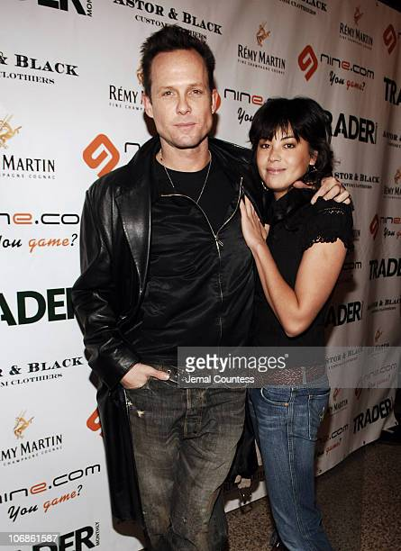 Dean Winters and Kelly Obert during Second Annual Box NYC Charity Event at Hammerstein Ballroom in New York City New York United States