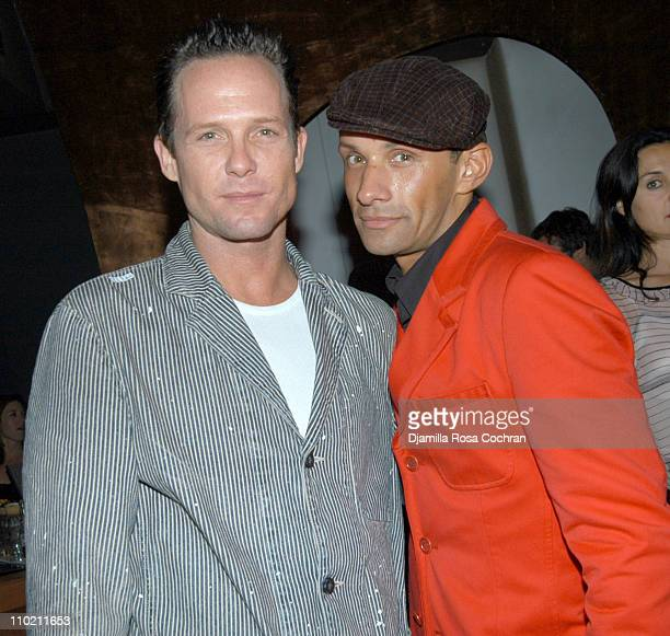 Dean Winters and Kevin Crawford during Crobar Presents George Wayne's Downtown 100 List Celebration at Crobar in New York City New York United States