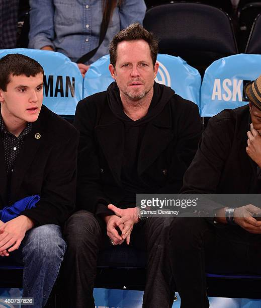 Dean Winters attends New York Knicks vs Phoenix Suns game at Madison Square Garden on December 20 2014 in New York City