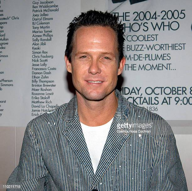 Dean Winters during Crobar Presents George Wayne's Downtown 100 List Celebration at Crobar in New York City New York United States