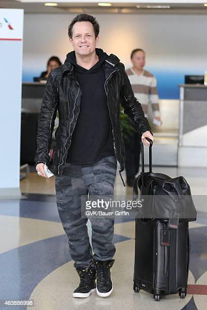 Dean Winters seen at LAX on February 19 2015 in Los Angeles California
